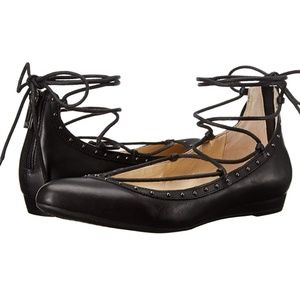 💣Jessica Simpson Libra Lace Up Flats💣